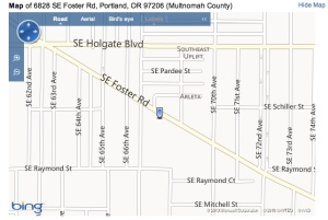 Foster Square Map