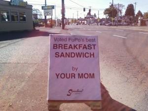 FoPo's best sandwich