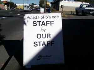 FoPo's best staff