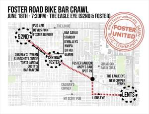 Foster Bike Bar Crawl