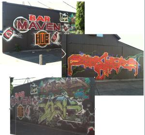 Bar Maven Mural