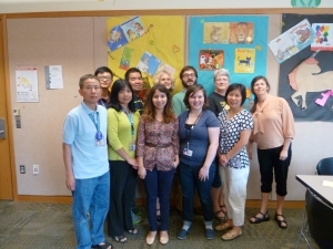 Holgate Library Staff