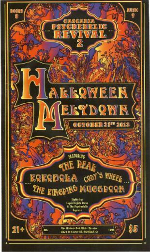 Halloween Meltdown at the Bob White