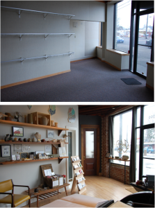 Before and After Storefront