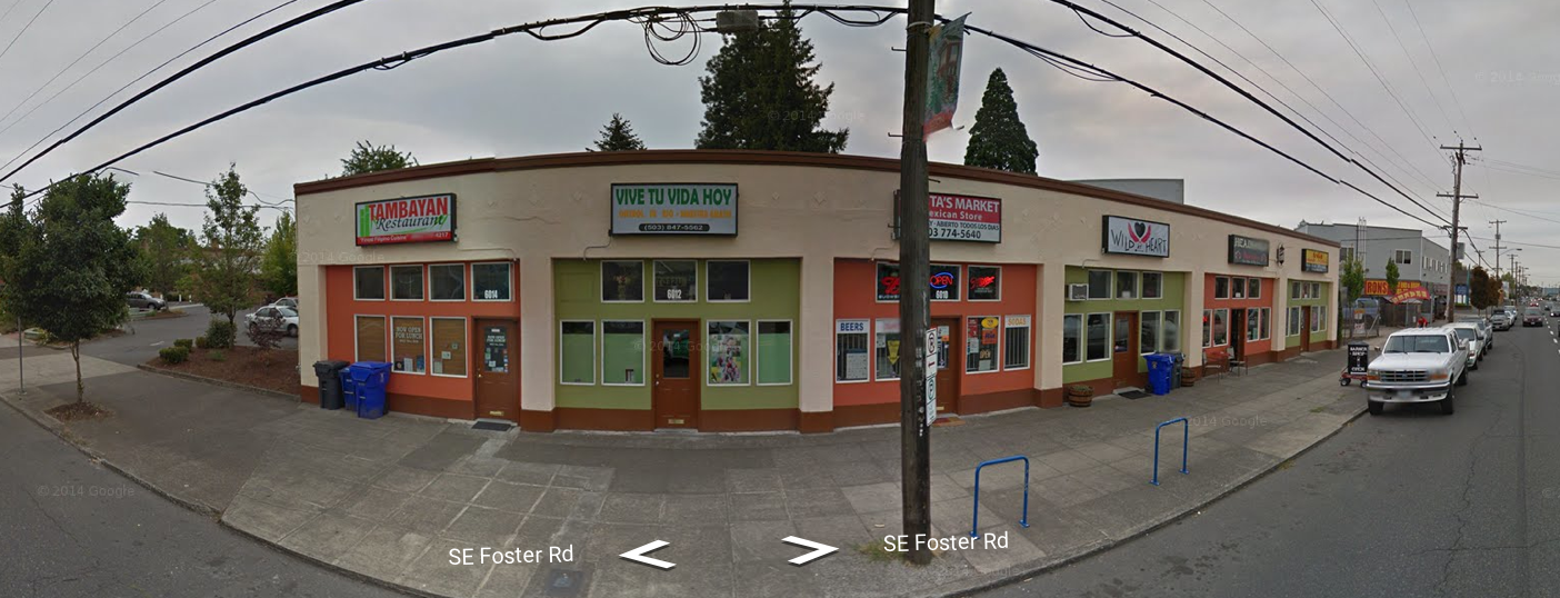 No, Foster does not bend at SE 60th